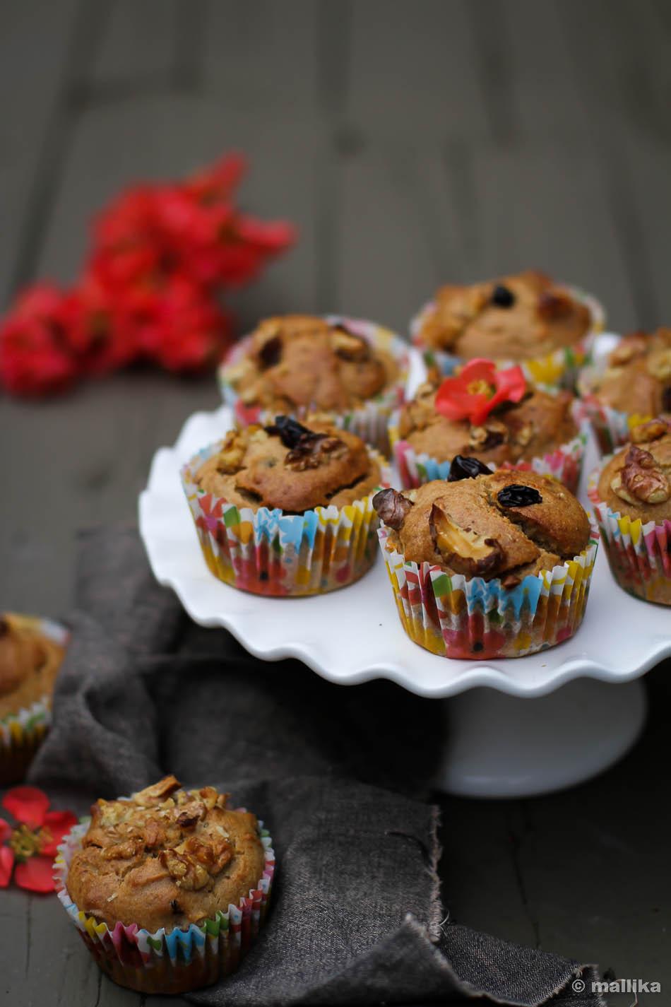 Banana Cardamom Muffins_3