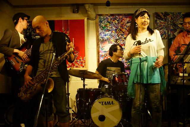 CLASSIC ROCK JAM at Cafe KICK, Tokyo, 23 Apr 2015. 190