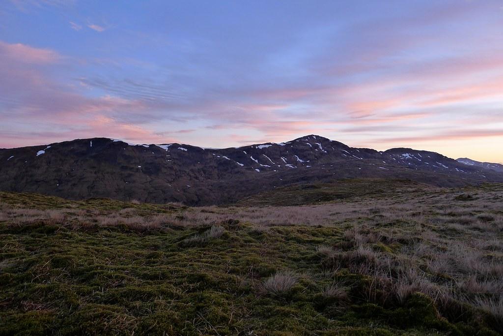 Beinn Bhuidhe before sunrise