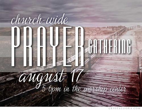 Prayer Gathering Event Promo