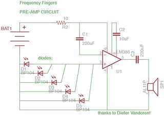 Pre-Amp Circuit