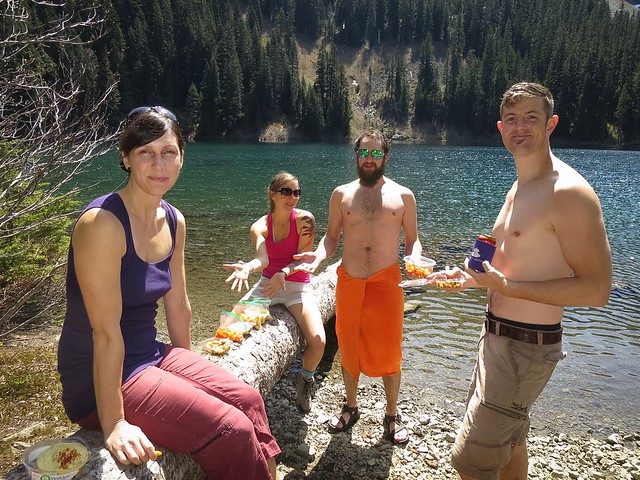 Lake Annette Hike with Sean, Emily, Owen, & Dawn, May 2015