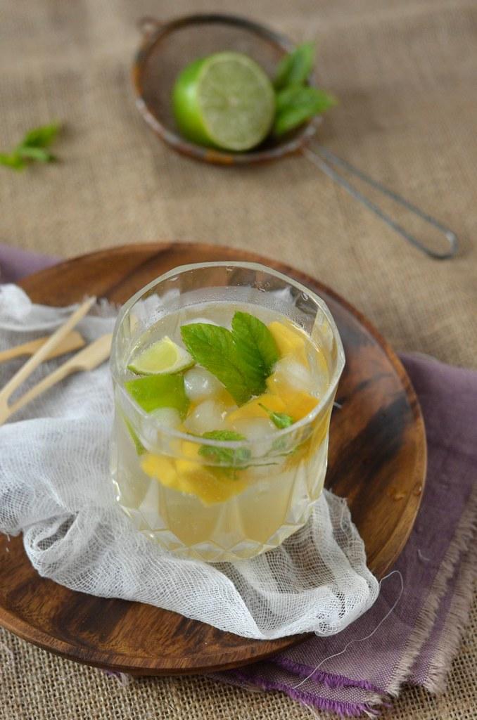 Mojito à la mangue sans alcool