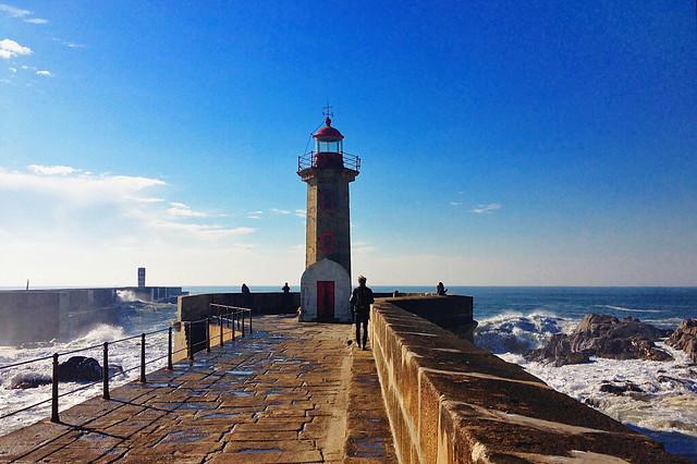 Farol da Senhora da Luz. Porto. Portugal