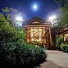 Disney Animal Kingdom Lodge at night