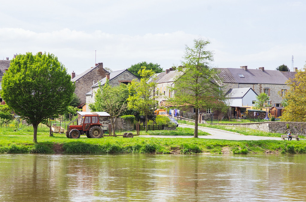 Carnet de voyage en France - Ardennes - Les bords de la Meuse