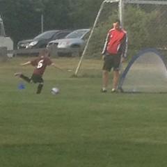 She shoots!  She scores!  #soccer