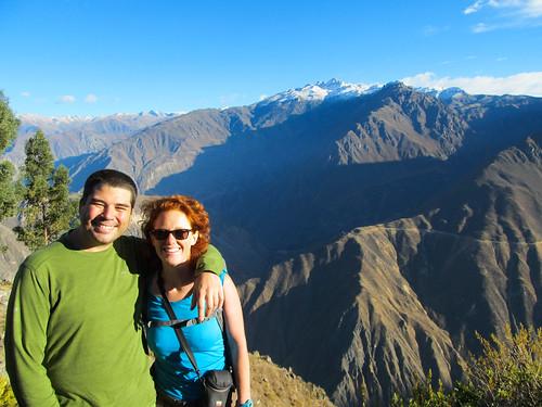 Trek du Cañon de Colca: we did it! Nous sommes en haut du canyon !!