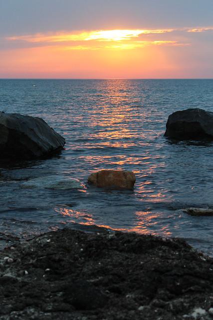 Sunset at Gosman's Dock