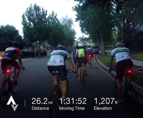Who wouldn't enjoy a good ride before work? Had a good crew out   a last Dawn Patrol 🚴 for @jonaandsome. With @ironnutz @keeeeez12 @hbanagatri23 and more #summer #sandiego #velonutz #dawnpatrol