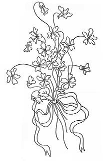 Sarah Hale Hunter Embroidery Pattern 1913
