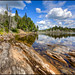 Lac Rond by Guylaine Begin