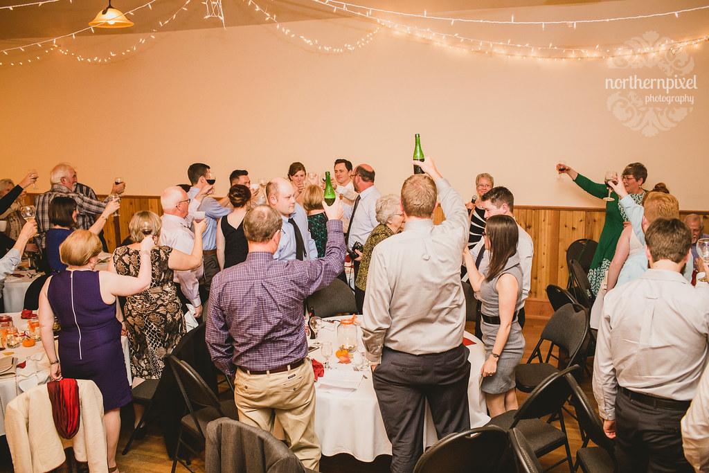 Round Lake Hall Wedding Reception