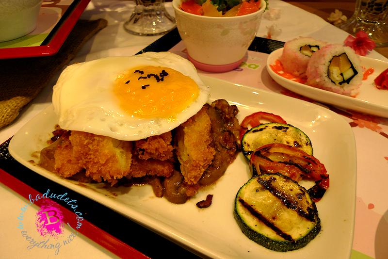 Sakura Chicken Katsu, tokyo bubble tea
