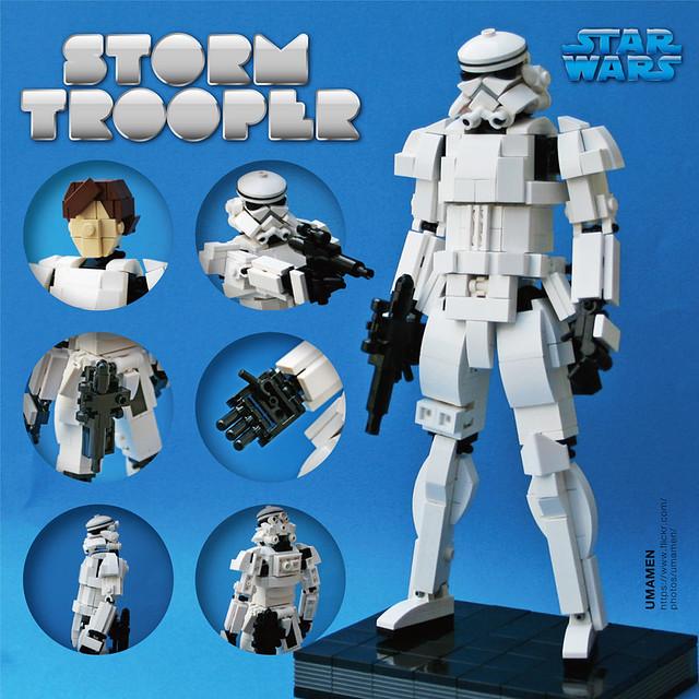 LEGO: Stormtrooper (8inch)