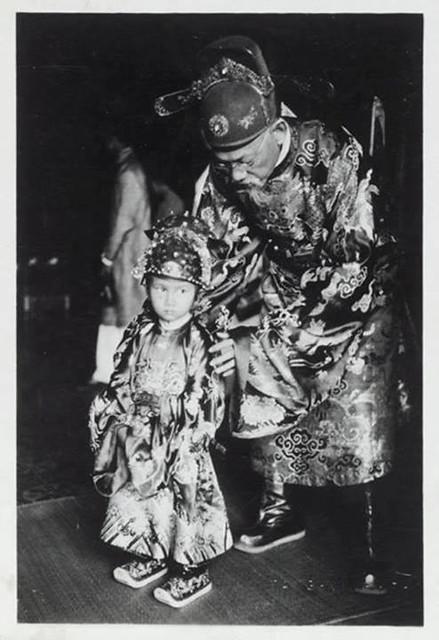 Thái tử Bảo Long trong lễ Tấn phong (1939).