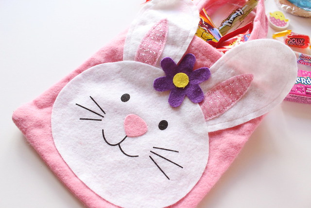 "pretty easter felt ""baskets"""