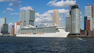 ms Regal Princess - Nieuwe Maas - Kop van Zuid - City of Rotterdam