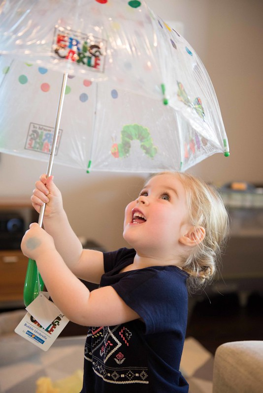 Harper's new umbrella