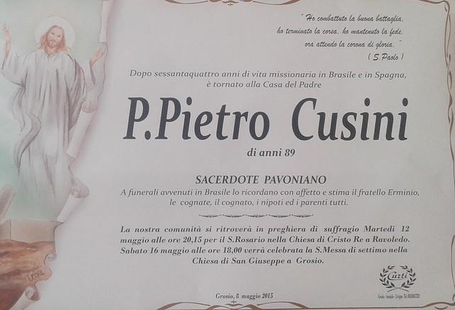Cusini P. Pietro
