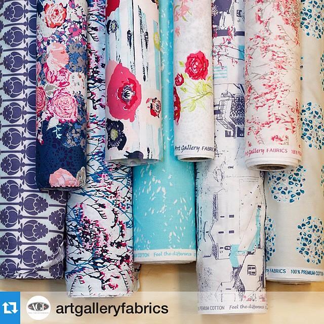 #Repost @artgalleryfabrics #SkopelosFabrics by #katarinaroccella💗#AGF #ArtGalleryFabrics #WeAreFabrics