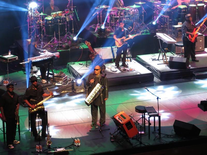 Stevie Wonder at Solaire, Manila