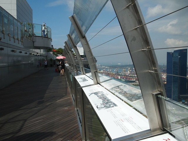 P4189200 SkyPark Observation Deck(展望デッキ スカイパーク) シンガポール