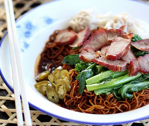 Malaysian Recipes] Wonton Noodles (Wantan Mee) | via All As ...