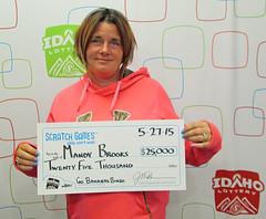 Mandy Brooks from Boise, ID - $25,000 Go Bananas Bingo