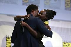 Chadwick Boseman & Lupita Nyong'o