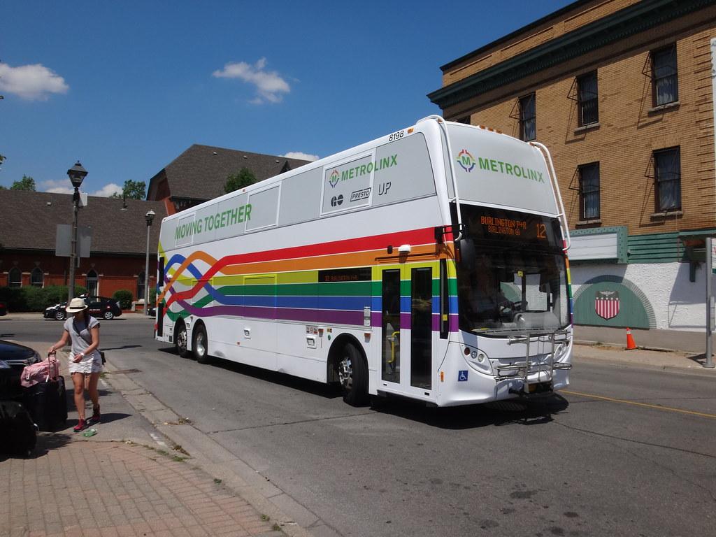GO Transit Alexander Dennis Enviro500 8198