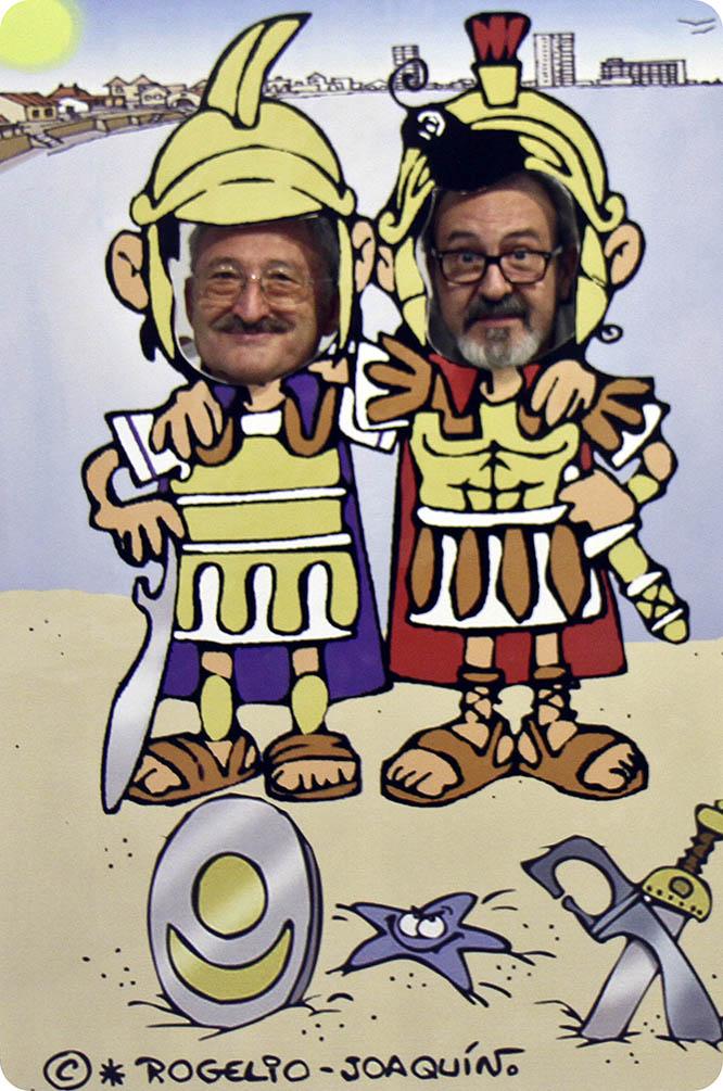 Rogelio y Joaquín pregonarán las fiestas de Carthagineses y Romanos