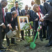 Tree-planting Ceremony in Honour of Nelson Mandela, Durban
