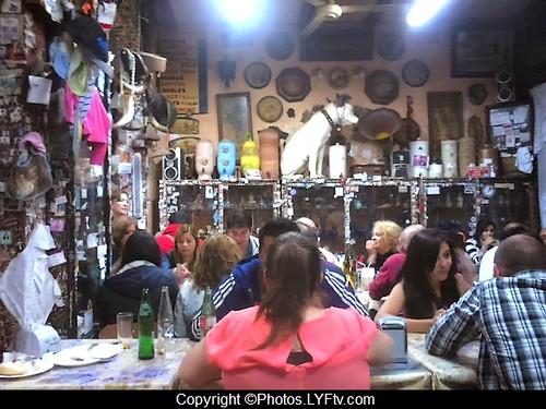 Le bar J Cruz Valparaiso Chili