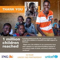 10 YEAR UNICEF – ING PARTNERSHIP