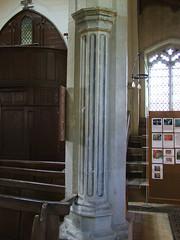 trompe l'oeil: 'fluted' pillar