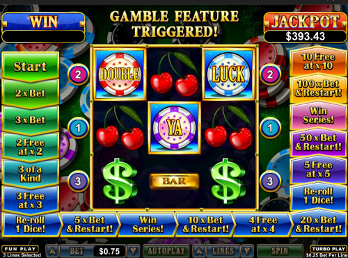 free Double Ya Luck! slot wild symbol