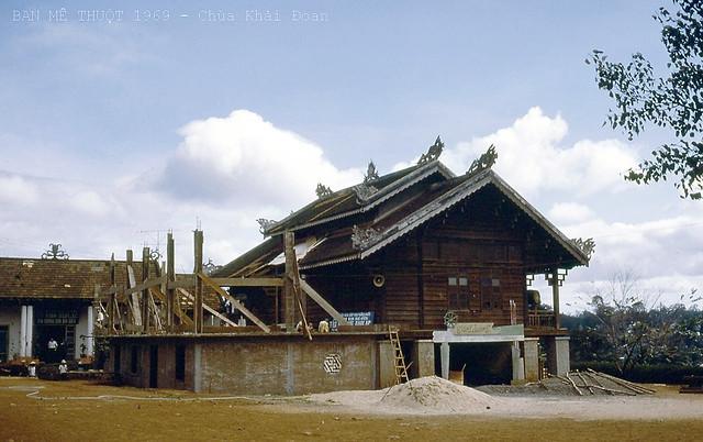 Ban Mê Thuột 1969 - Chùa Khải Đoan - Photo by Kestler