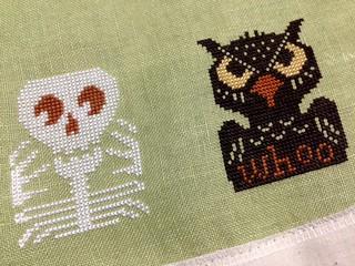 Prairie Schooler - Skeleton & Owl