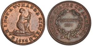 1838 Anti-Slavery token