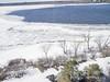 Ottawa River - Spring Melt.. Kite aerial photography.