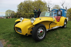 caterham 7(0.0), race car(1.0), automobile(1.0), lotus seven(1.0), vehicle(1.0), caterham 7 csr(1.0), antique car(1.0), vintage car(1.0), land vehicle(1.0), sports car(1.0),