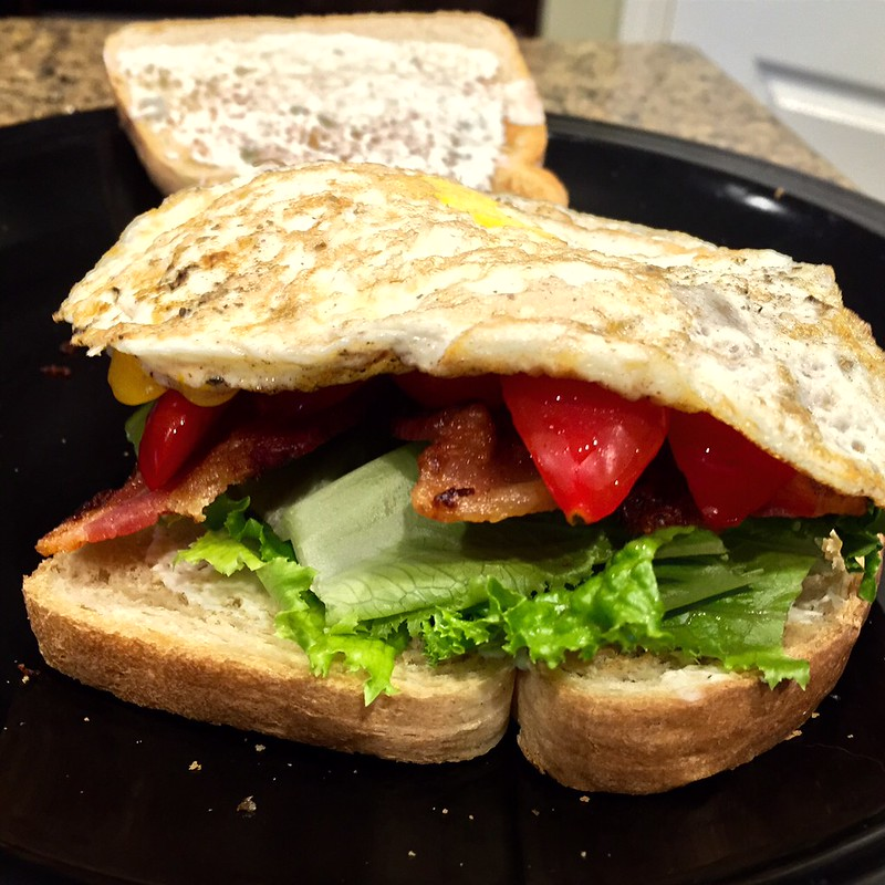 Chive & Onion Cream Cheese BLT