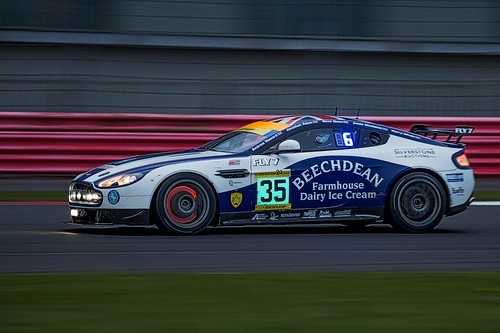 Beechdean AMR . Winners of the 2015 Dunlop 24 Hr race at Silverstone.