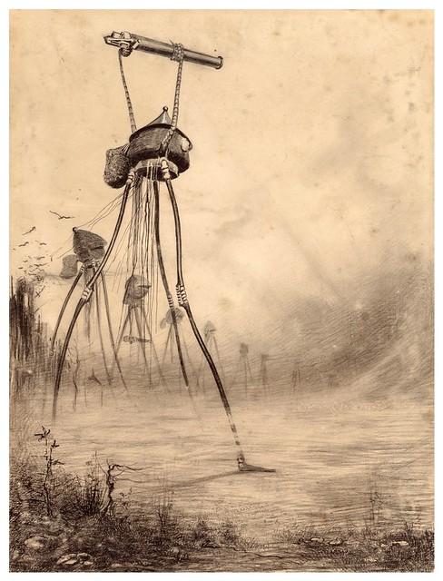 014-La Guerre des Mondes illustreè par Alvim Corrêa-1906- Heritage Auctions