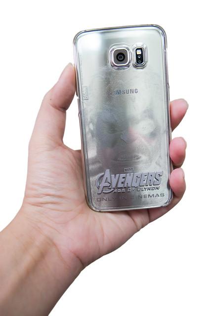 超英雄!Galaxy S6 / S6 edge 復仇者聯盟背蓋開箱  + 獨家自製背蓋炫耀文 @3C 達人廖阿輝