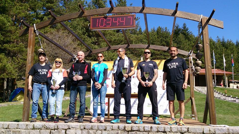 Oι βραβευθέντες νικητές του ROC 2015. Από αριστερά: Jo Manta, Παναγιώτης Τούλης, Δέσποινα Γαβριηλίδου, Γιάννης Κουρκουρίκης, Παναγιώτης Γούναρης | Photo (c): Advendure