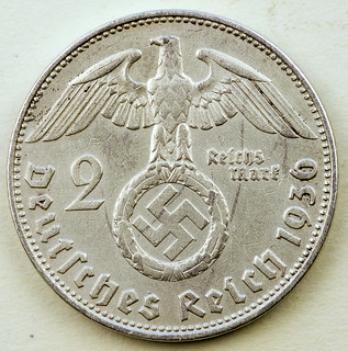 Coin photography - 1936 Germany 2 Reichsmarks