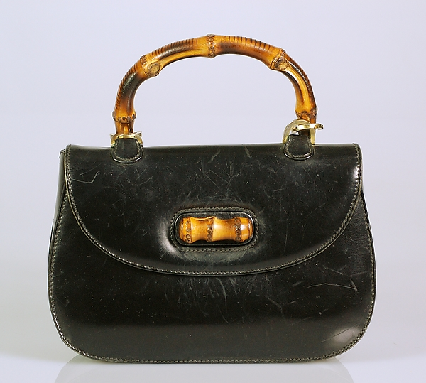 1965. Italian. Gucci. Leather, wood, metal. metmuseum