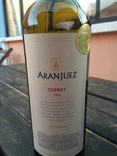 Sucre: un autre vin bolivien, encore meilleur, pour refêter nos 10 mois de voyage ! ;)
